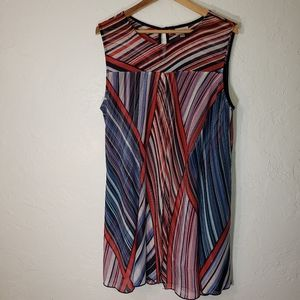 Avenue, Sleeveless Sheer tunic blouse, 18/20